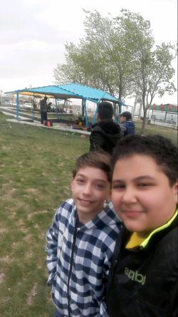 من و یکی از یهترین دوستام در گاوازنگ زنجان.....