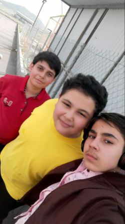 من و ۲ تا از بهترین دوستام  در گاوازنگ زنجان .....