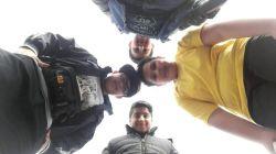 من و ۳ تا از دوستام  در گاوازنگ زنجان