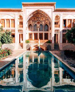 خانه مهینسرای راهب #کاشان ☺❤️  #ایران_زیبای_من☺❤️
