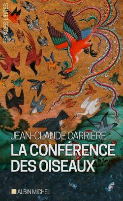 """خراسان غربی / کتاب """"La Conférence des oiseaux"""" به زبان فرانسه، نمایشنامهای برگرفته از «منطقالطیر» فریدالدین عطار نیشابوری، نوشته شده توسط ژانکلود کریر (Jean-Claude Carrière) فیلمنامهنویس فرانسوی؛ این نمایشنامه که نخستین بار در ۱۹۷۹م  به کارگردانی پیتر بروک بر روی صحنه رفت در سال ۲۰۰۸م، به ویراستاری Albin Michel در قطع جیبی منتشر گردید."""