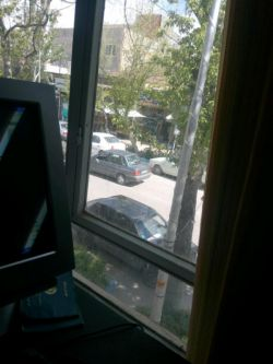 پنجره دفتر کار قوچان خ مطهری