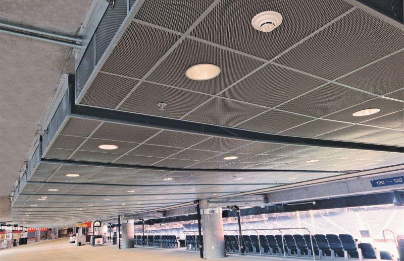 ساخت سقف کاذب با استرچ متال