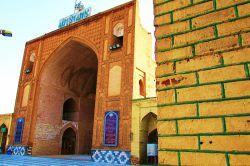 خراسان غربی / ایوان جنوبی بنای تاریخی مسجد جامع نیشابور؛ این بنای تاریخی که قدمت آن به دوره تیموری میرسد در بافت تاریخی مرکز شهر نیشابور قرار گرفته است.