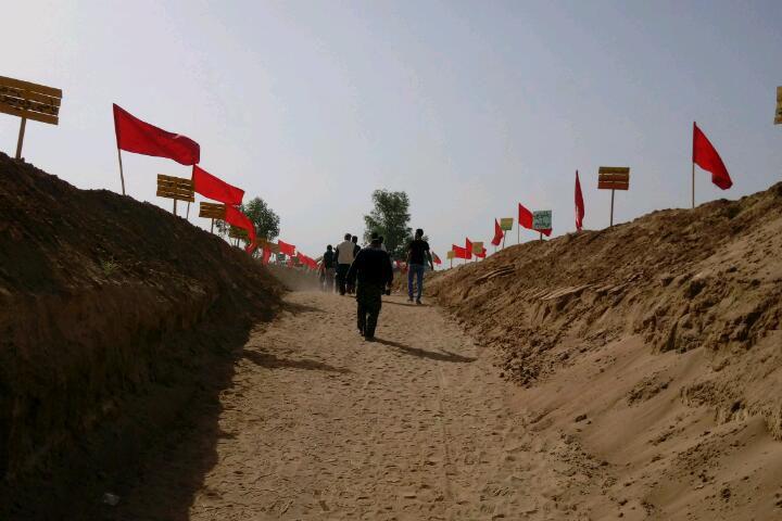 #راهیان_نور = #راهیان_بهشت منطقه عملیاتی هفت تپه