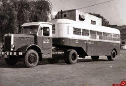 اتوبوس تریلی در آبادان قدیم
