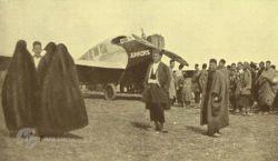 عکس نایاب از اولین هواپیمای خریداری شده تاریخ ایران