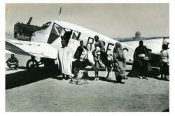 هواپیمای آلمانی در همدان سال 1303