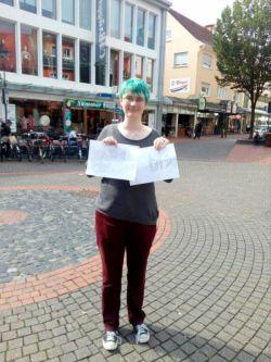 دوستم ماری از آلمان شهر هایم o_O