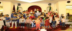 جشن تقدیر از فرزندان همکاران سازمان
