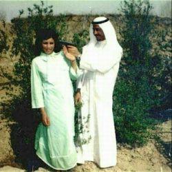 شوخی رمانتیک صدام حسین با همسرش