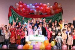 ﷽ گزارش تصویری  جشن حسینه کودک گمنام  #کودکان_آسمانی_هیات