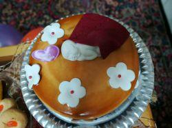 کیک تولد یک ماهگی عشقم