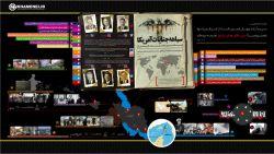 اینفوگرافی سیاهه جنایات آمریکا علیه ملت ایران