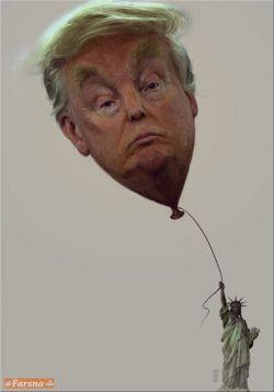 «مرگ بر آمریکا» در آثار کاریکاتوریستهای جهان