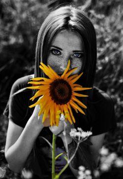 به هر طرف میچرخد  #تو را ببیند  #افتابگردانی  که  #خورشید هم حسرت سرگردانی اش را میکشد...