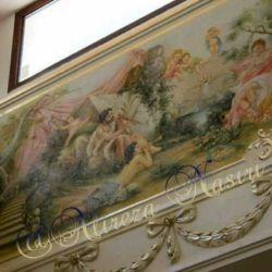 یکی از کارهای نقاشی دیواری بنده