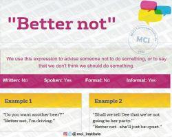 """#عبارت امروز """"Better_not#"""""""
