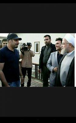 اخسان خواجه امیری در کیش و رو در رویی با رئیس جمهور