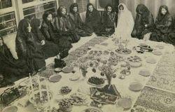 سفره حضرت ابوالفضل ع قبل از انقلاب حجاب یعنی همین