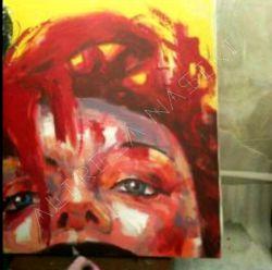 نقاشی در 15 دقیقه   متریال رنگ اکرلیک