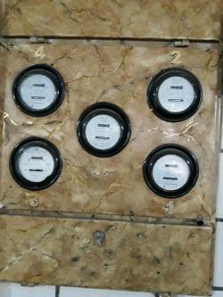 طرح سنگ کردن فلز روی کنتور برق  یکی دیگه از کارهای من