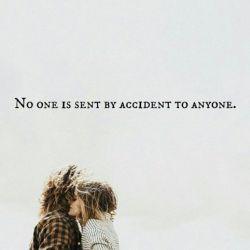 کسی تصادفی برا کسی فرستاده نمیشه