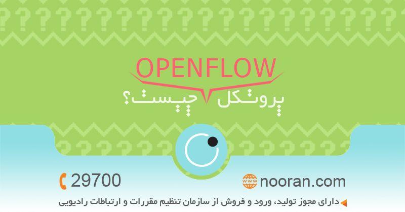 بررسی پروتکل OpenFlow در ارتباط بین کنترلر و سوییچ در شبکه های نرمافزاری