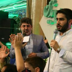 شب میلاد حضرت اباالفضل ع حاج محمدرضا طاهری/کربلایی حسین طاهری
