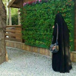 گفتم این چادر تو شعبده بازی کرده.... رو گرفتی و به اغفال دلم خندیدی...