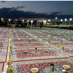 بزگترین سفری افطاری درمرقد اقا امام رضا جای همتان خالی