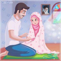 ✅ شماره 75 ✅ #بسم_الله_الرحمن_الرحیم ❤ بهشتِ دنیا خانه ی خانواده ای دو نفره است که با شنیدن اذان ، هر دو برای نماز بایستند ، زن به مردش اقتدا کند و چه چیزی قشنگ تر از ذکر گفتن با انگشتانِ دیگری ❤ بهشت خانه ای است که نظر یکدیگر مهم باشد ... هیئت های شب جمعه به راه باشد و هر دو نفر باهم عاشق خدا و اهل بیت باشند ❤