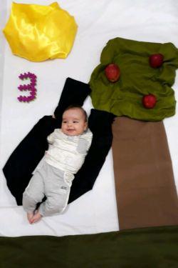 پسرم سه ماهه شده:)