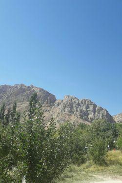 طبیعت بکر کوههای فیروزاباد .امروز ۱۸ خرداد ۹۷