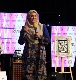 چهره ماندگار اجرا - سوسن حسنی دخت - هشتمین جشنواره سعدی