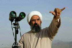 فقط ژست این شیخ منو کشته ، دانشمندان ناسا اینجوری رصد نمیکنن که ... ☺☺ ( به بهانه نزدیک شدن به رصد هلال ماه شوال )