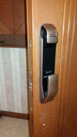 www.samsunglock.support نصب قفل دیجیتال کارتی و اثر انگشتی SAMSUNG SHP-DP920 تلفن : 09380941398
