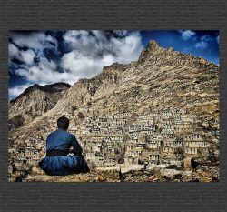 تنها در طبیعت بکر کردستان