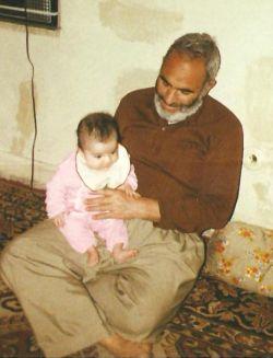 در آغوش آسمان! در آغوش پدربزرگ شهیدم؛آزاده جانباز شهید علی محسنی وطن
