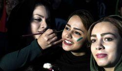 پخش بازی ایران و پرتغال و شادی مردم در استانها