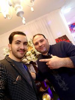 بنیامین طیب آهنگساز و نوازنده استیج سعید مرادی عزیز