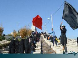 پیاده روی جامانده های اربعین در مرودشت