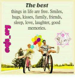 #بهترین چیزهاى #زندگی #رایگان هستند