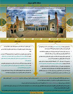 اینفوگرافی مسجد جامع سبزوار http://www.asrarnameh.com/sabzevar.php?id=20240