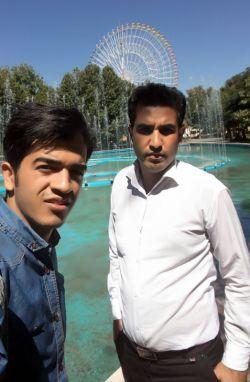 پارک ملت همراه داداش محمدم