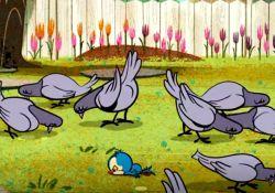 انیمیشن کوتاه به پرنده ها غذا بده  www,filimo.com/m/T4vta