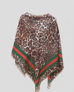 روسری قواره دار طرح گوچی می باشد که قواره این روسری نخی 140*140 می باشد و ارسال این روسری زیبا در فروشگاه اینترنتی گیپی شاپ رایگان می باشد .    https://gipishop.com