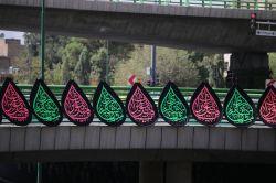 المان های محرم- پل جابرانصاری- اصفهان- 97