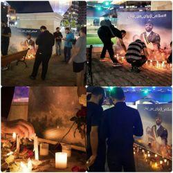 شام غریبان خودجوش لبنانیها برای شهدای حمله تروریستی اهواز