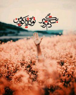 دستم را بگیر تو دریایی من کویر #حامد زمانی